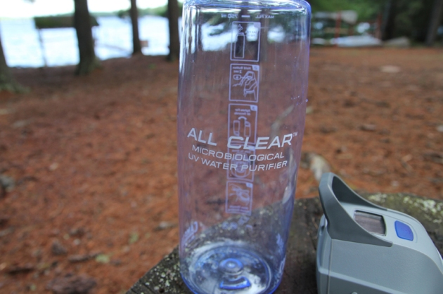 All Clear is made for wilderness or travel use