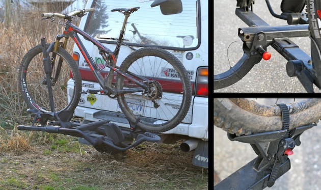 The HoldUp is easy to use and shouldn't ever lose a bike.