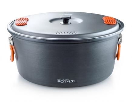 4.7 liter Halulite cooking pot