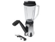 Vortex hand-crank blender