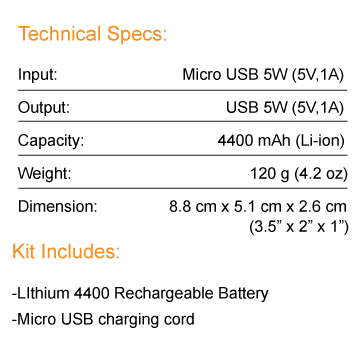 tech-specs-lithium4400-battery-diagram-charges-any-usb-device-text