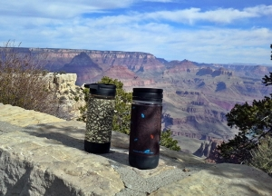 Leif & Autumn enjoyed coffee their way…and what a morning view! (Autumn Crook/EasternSlopes.com)