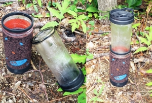 """The double-wall plastic """"sleeve"""" of the GSI Commuter Java Press creates the world's simplest French press. (EasternSlopes.com)"""