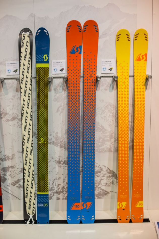 The all-new Cascade touring ski from Scott incorporates Punisher construction into a carbon weaved core to make for a more efficient hiking ski. This ski is also offered in a 95mm and 110mm waist.