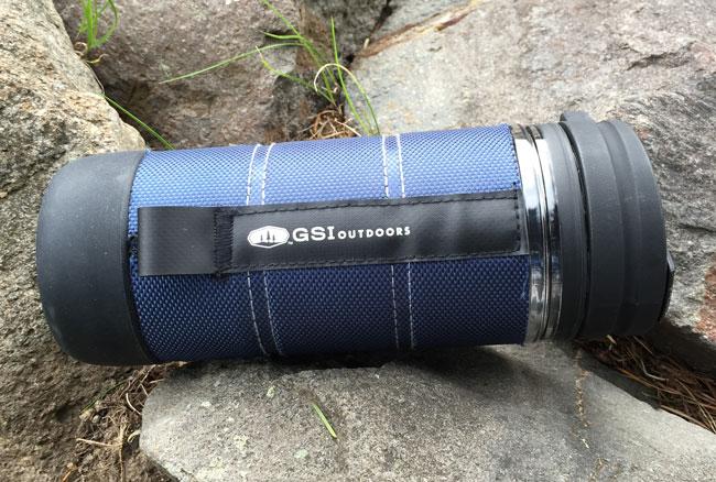 Red GSI Outdoors Commuter Javapress Coffee Mug 15 fl oz.