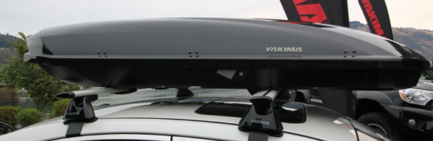 All of Yakima's cargo boxes are made in the USA