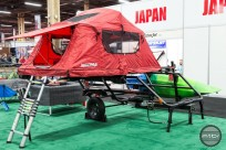 Yakima EasyRider High trailer on display at Interbike.