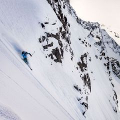 @n8greenberg spending his share in the BC backcountry. Photo @ken_etzel