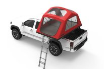 "Sits 13"" above bed's side rails—ideal for rooftop tent placement"